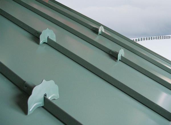 Closeup Photo of 6500 Snow Guards For Standing Seam