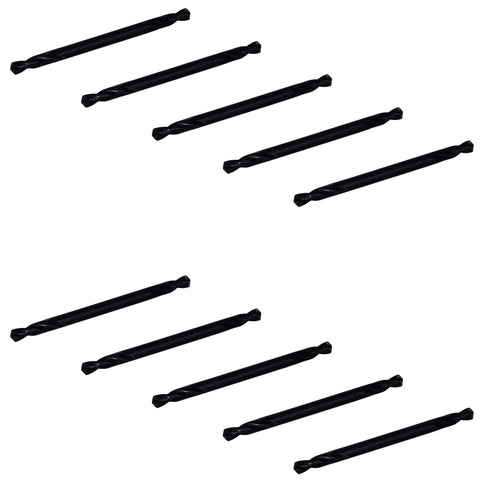 "Double Sided 1/8"" Drill Bit (10 Pack)"