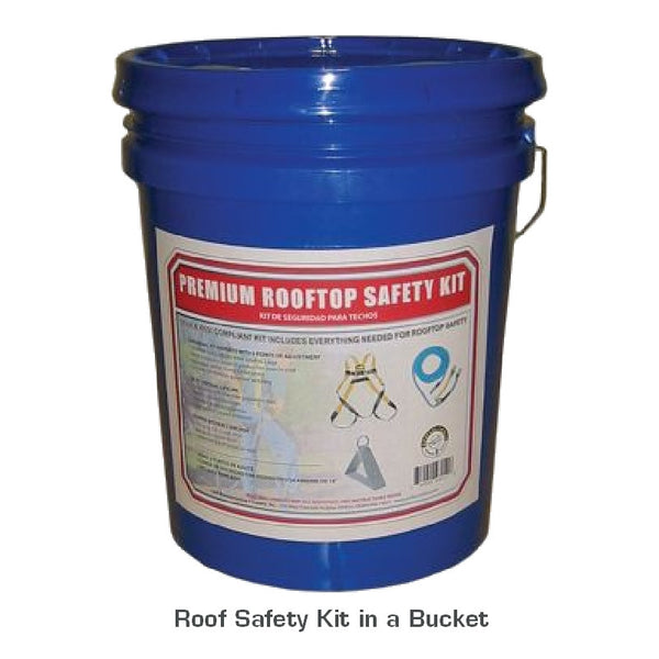 Roof Safety Kit In A Bucket Best Buy Metals Metal
