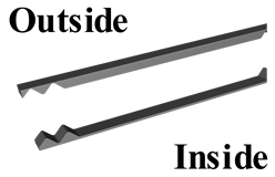 2' Closures, 5V-Crimp (outside or inside)