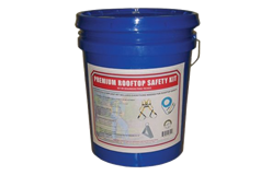 Roof Safety Kit - In A Bucket