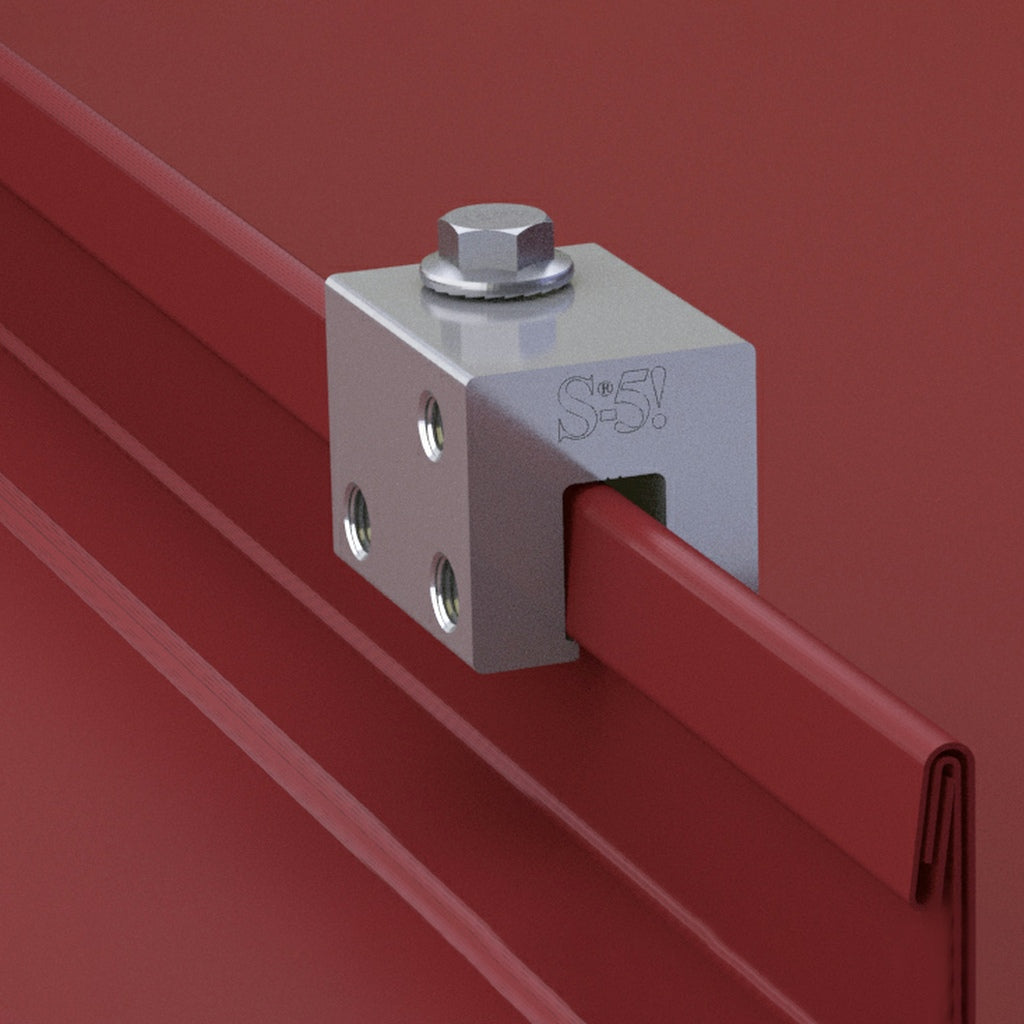 S-5-U Clamp - Standing Seam Clamp - For 85RF Snow Guards, ColorGard Snow Rails, & More