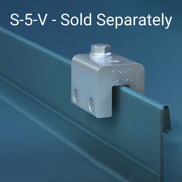 S-5-V Clamp - Sold Separately