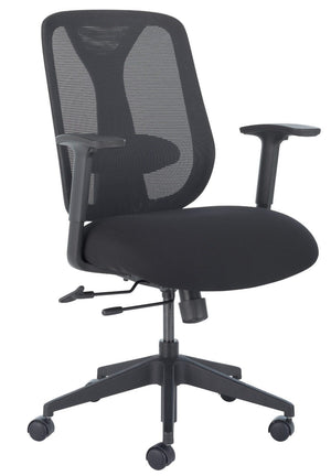 Rexxi 2 Office Chair Office Chair, Conference Chair, Computer Chair, Teacher Chair, Meeting Chair Trendway Fabric Color Black Mesh Color Black