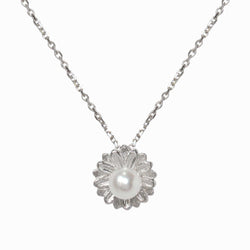 Pearl Daisy Necklace