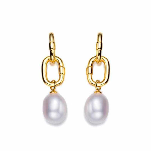 Brunch Bar Drop Pearl Earrings