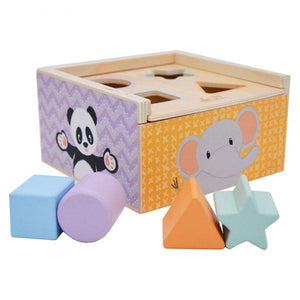 Shape sorter box-Squidling Toys