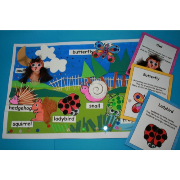 Wildlife Around Us Craft Kit