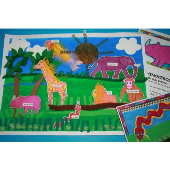 Wild Animals Craft Kit