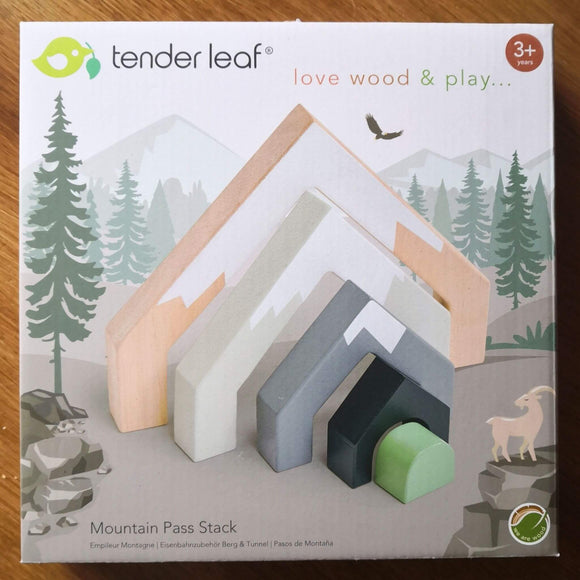 Mountain pass wooden arches -  Tender leaf toys