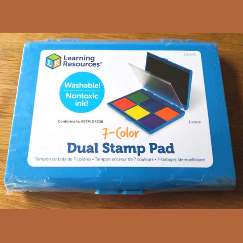washable stamp pad -  learning resources