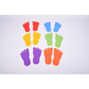 Sensory Footprints set of 6
