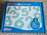 Silishapes silicone dot numbers