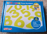 Trace numbers - yellow silishapes