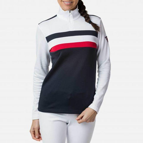 CHANDAILE STRIPES 1/2 ZIP
