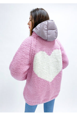CARDIGAN LONG HEART