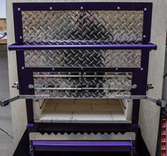 Welded Steel Frame Custom Kilns