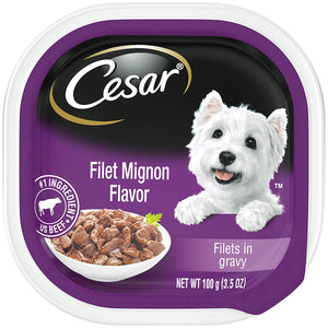 Wet Dog Food                         Cesar Dog Food