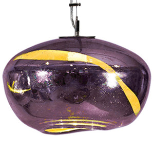Galaxy Pendant from the Vista Swirl Collection | Multiple Colors Available