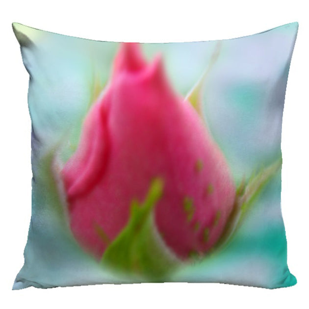 Rose Berry Pillow from the Le Fleur Collection | Multiple Sizes Available