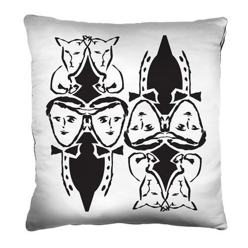 Committee Pillow from the Noir Pillow Collection | Multiple Sizes Available