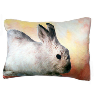 "Cottontail Pillow from the Fable Pillow Collection | 24"" x 18"""