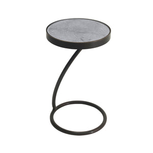 Duncan Side Table from the Gotham Collection | Multiple Colors Available