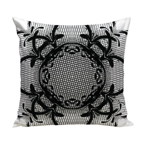 Harlow Pillow from the Noir Pillow Collection | Multiple Sizes Available