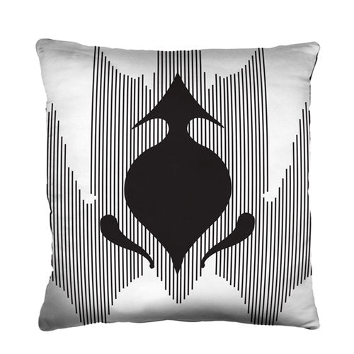 Strange Spade Pillow from the Noir Pillow Collection | Multiple Sizes Available