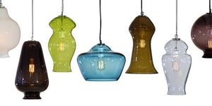 Sol Pendant from the Vesuvius Collection | Multiple Colors Available
