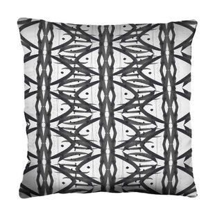 Tribal Pillow from the Noir Pillow Collection | Multiple Sizes Available