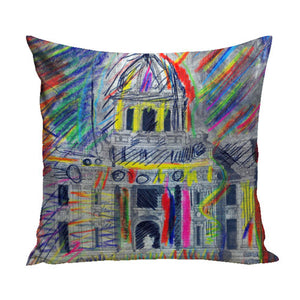 Cathedral Pillow from the Fine Art Pillow Collection | Multiple Sizes Available