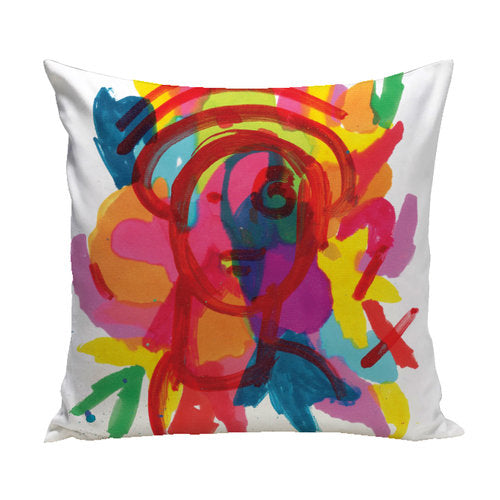 Portrait Pillow from the Fine Art Pillow Collection | Multiple Sizes Available