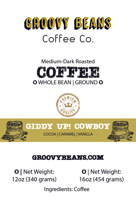 Giddy Up Cowboy Blend