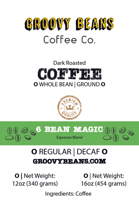 6 Bean Magic