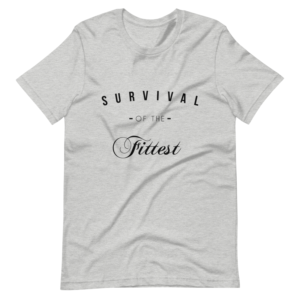 Survival Tee - Black Graphic