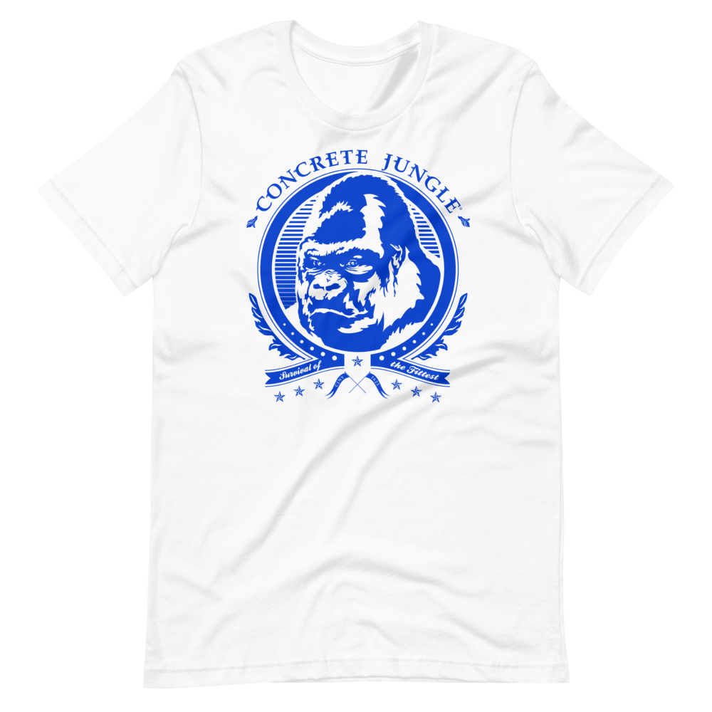 Gorilla Insignia Tee - Blue Graphic