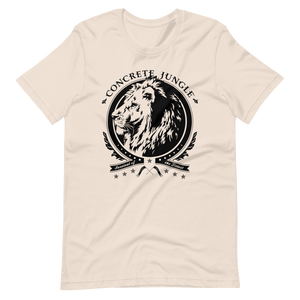 Lion Insignia Tee - Black Graphic