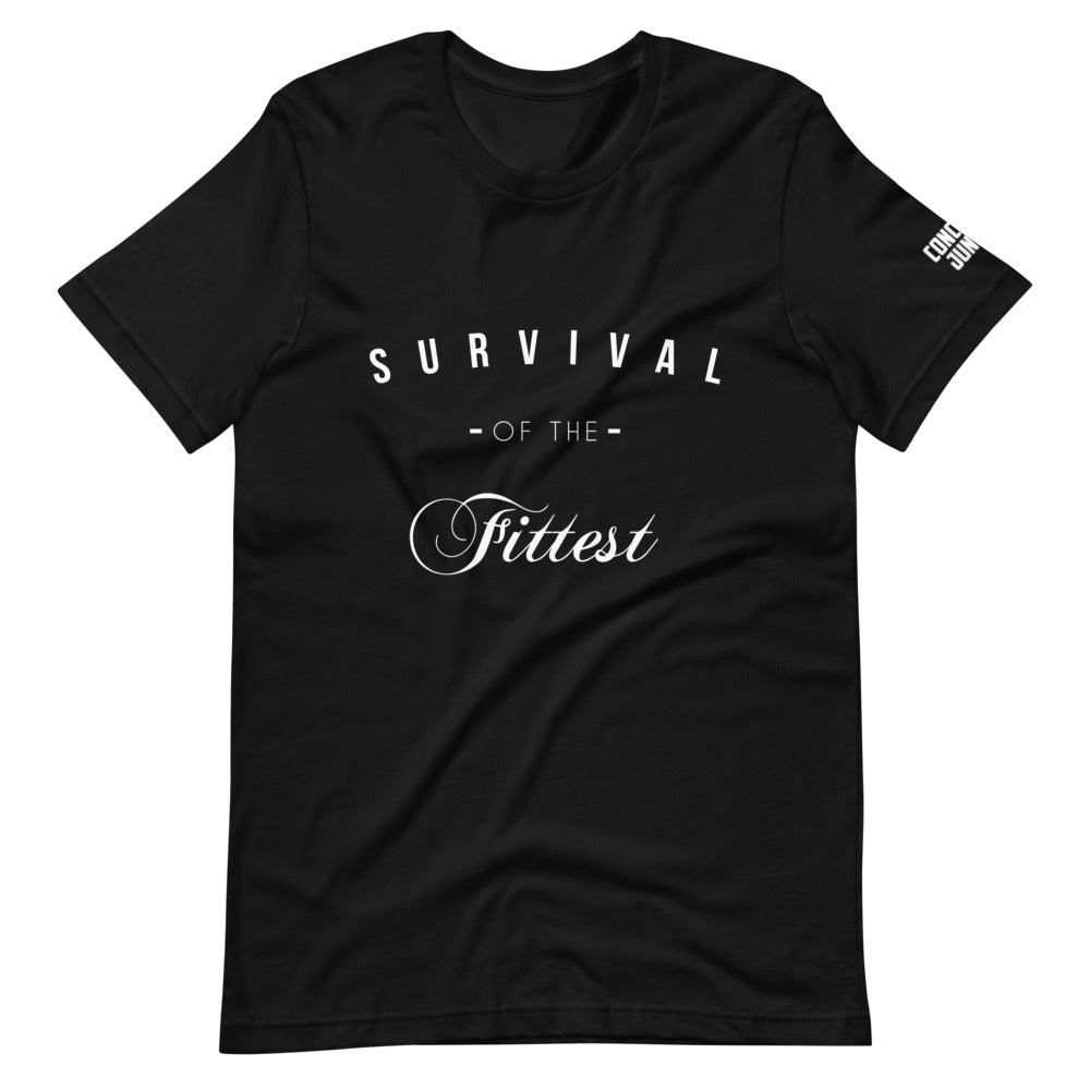 Survival Tee - White Graphic