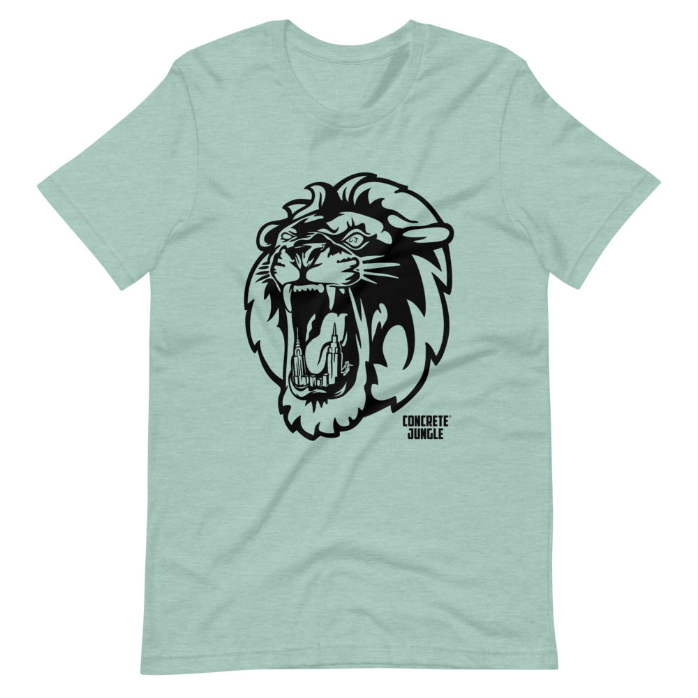 Lion City Teeth Tee - Black Graphic
