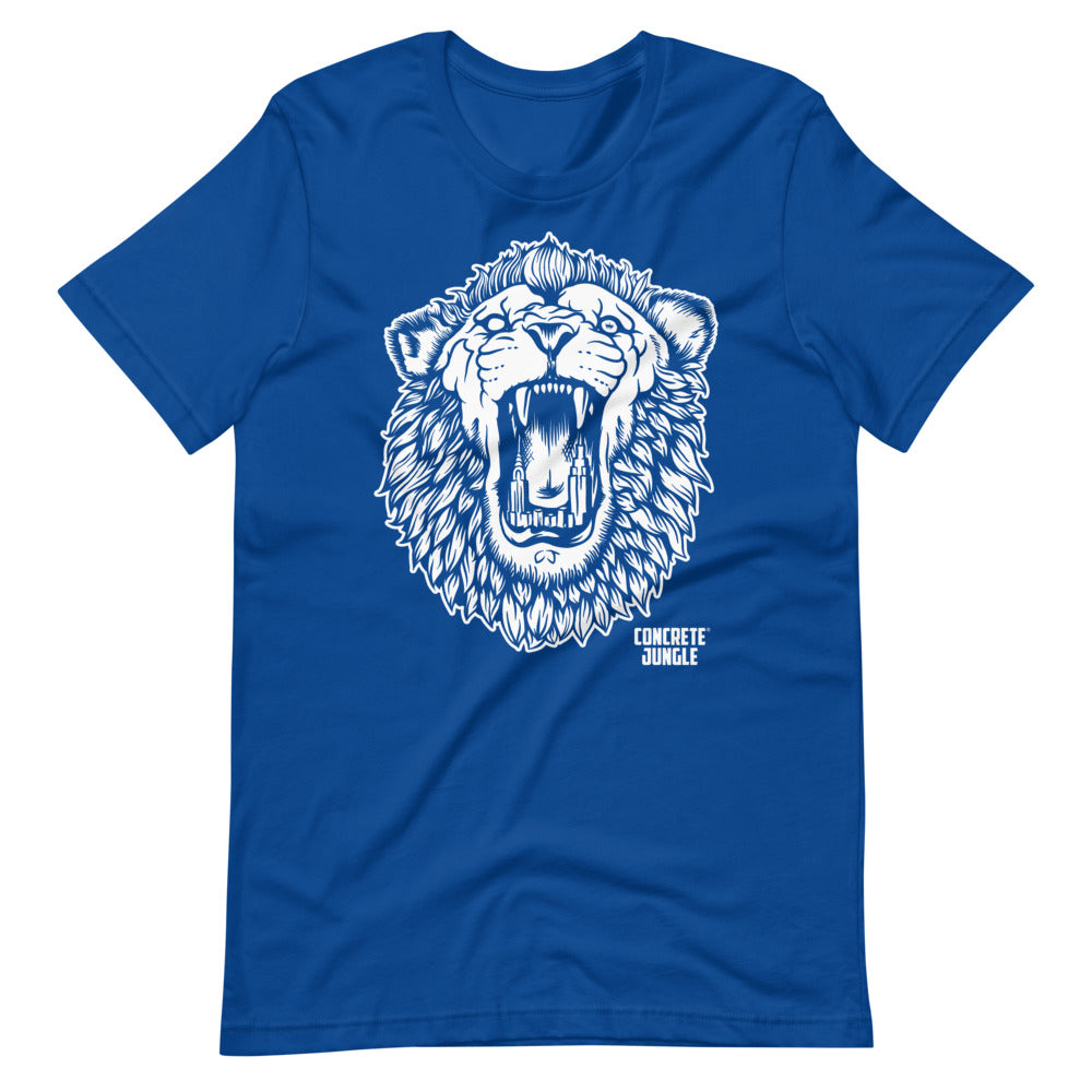 OG City Lion Tee - White Graphic