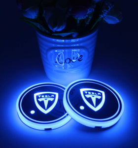 2pcs Car cup holder lights