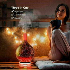 Iselfie Firework Humidifier & Oil Diffuser