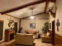 Whitetail Cabin- A Hunters' Paradise. A Great Place To Enjoy Hunting While Also Relaxing