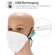 Load image into Gallery viewer, LED Dust Mask Rechargeable Luminous LED Mask