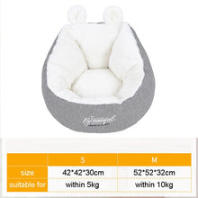 Load image into Gallery viewer, HOOPET Pet Cat Dog Bed Warming Dog House Soft Material Sleeping Bag Pet Cushion Puppy Kennel