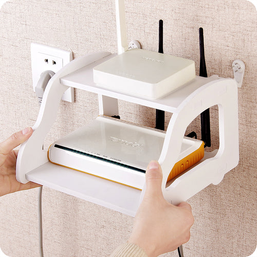 New creative convenient shelf Remote Control / Modem holder
