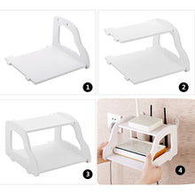 Load image into Gallery viewer, New creative convenient shelf Remote Control / Modem holder