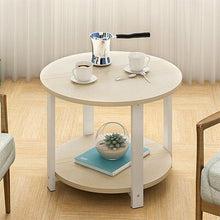 Load image into Gallery viewer, Tea table is round table Angle of modern sofa edge ark of edge of chair of a few simple table edge phone a few northern Europe