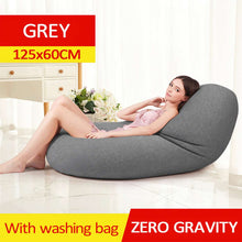 Load image into Gallery viewer, Waterproof Lazy BeanBag Sofas Linen Cloth